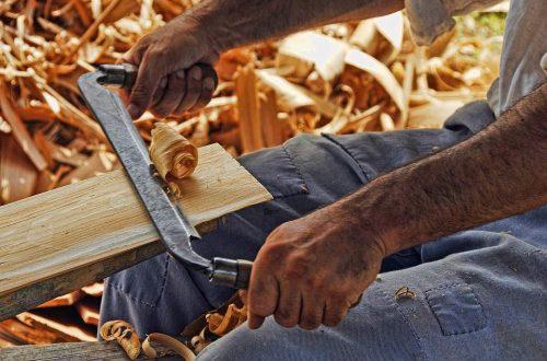 artisan du bois
