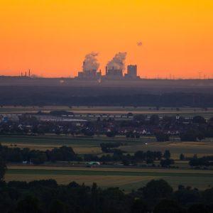 image de pollution en plein coeur de la France